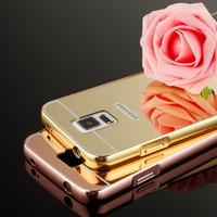 Luxury Mirror Aluminum Case For Samsung Galaxy S3 I9300 S4 I9500 S5 I9600 S6 S7 Edge