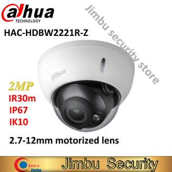 DAHUA HDCVI varifocal motorized lens 2.7-12mm camera HAC-HDBW2221R-Z smart IR30M WDR 2MP 1080P security camera IP67
