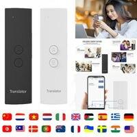 T6 легко Транс Смарт Язык переводчик мгновенный голосовой речи BT 28 Язык s + приложения горячей переводчик
