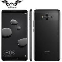 Huawei社メイト10携帯電話アンドロイド8.0 4グラム64グラムデュアルリアカメラ4グラムlteオクタコア5.9
