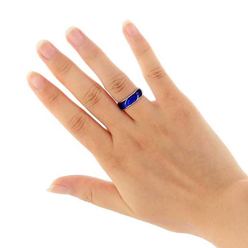 CHENFAN Korean ringen womens rings for women punk stainless steel couple jewelry bijouterie color changing ring men