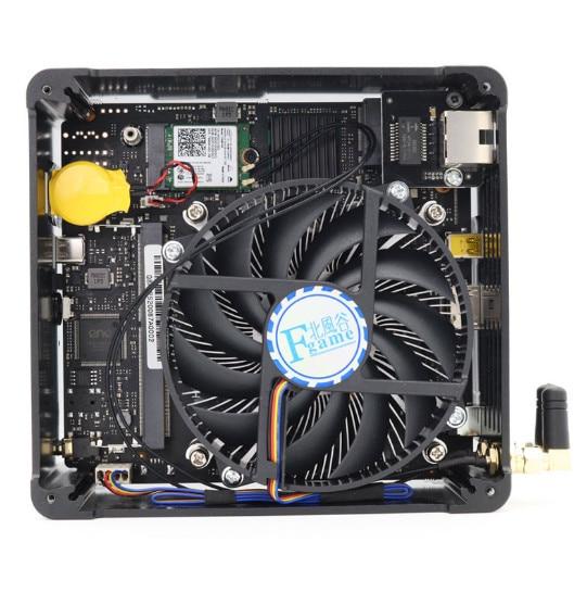 Newest Gaming Mini PC i9-9880H 8 Core 16 Threads 2*DDR4 2666MHz 2*M.2 Nuc Windows 10 Pro Linux Desktop Computer AC Wifi DP HDMI 5