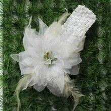 2017 Moda Mulheres Meninas Nupcial Decoração de Casamento Acessórios Para o Cabelo Grampos de Cabelo Flor Clipe Barrette Praia Cabeça Hairwear
