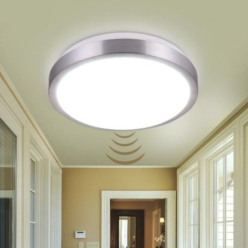 Motion Sensor/Radar Humain induction Acrylique led plafond lumières Appareils