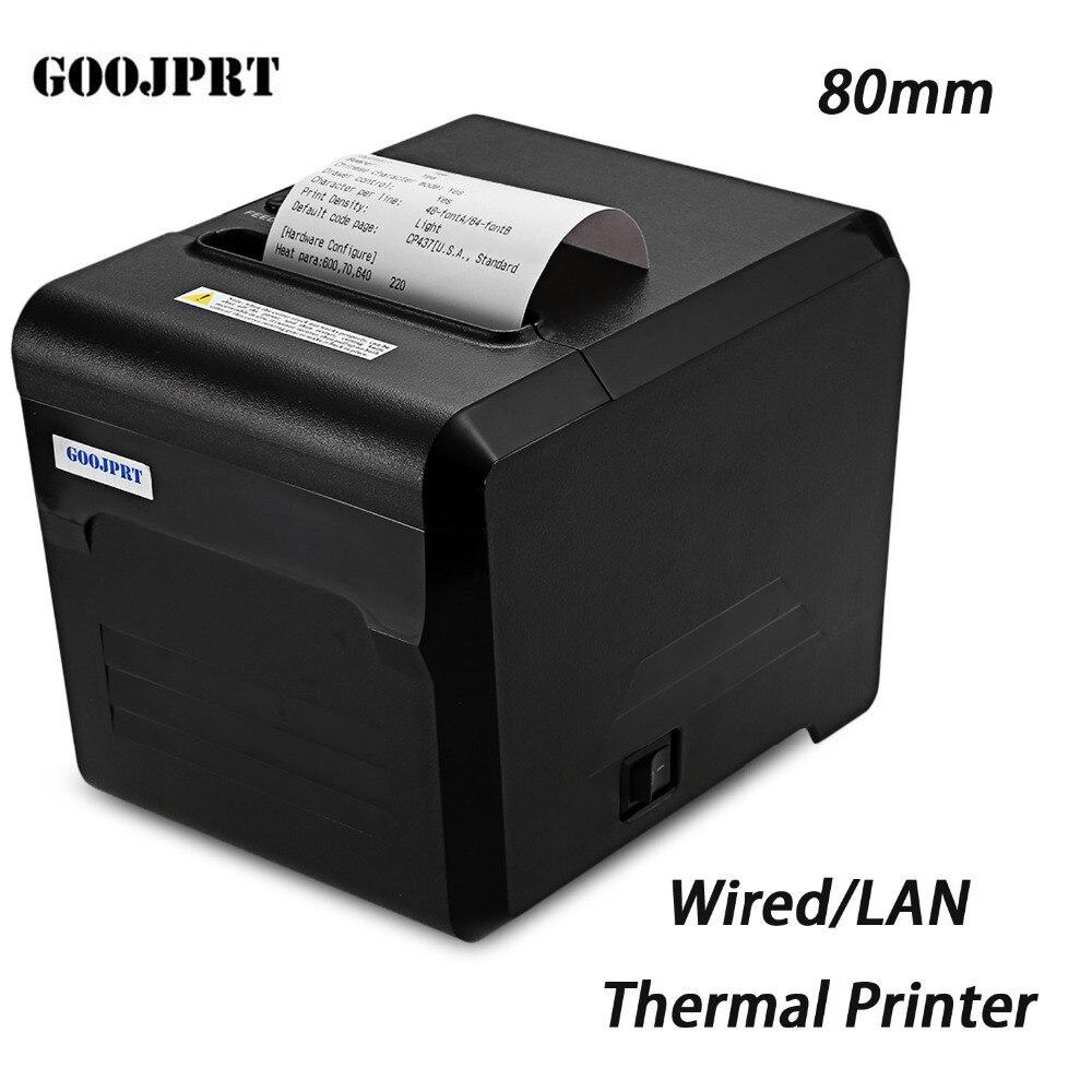 GOOJPRT JP80A Thermodrucker mit USB LAN Serielle schnittstelle 80mm ...