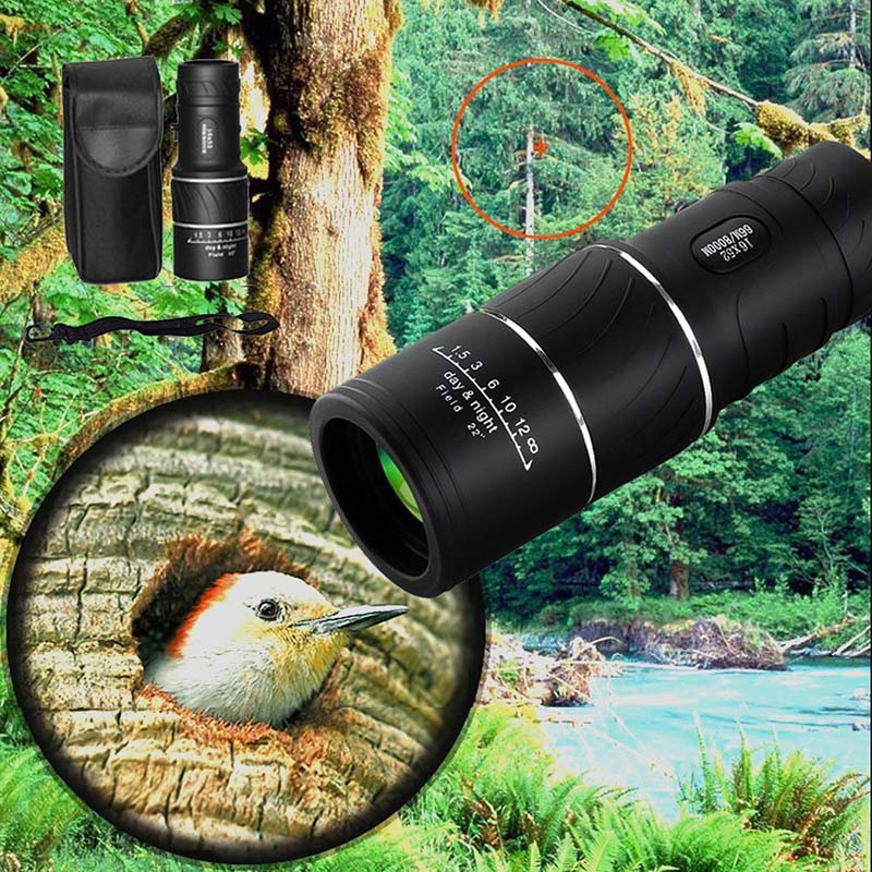Monocular Telescope 16x52 HD Waterproof Anti dust Shockproof Telescopes for Outdoor NK Shopping|Mobile Phone Lens| |  - title=