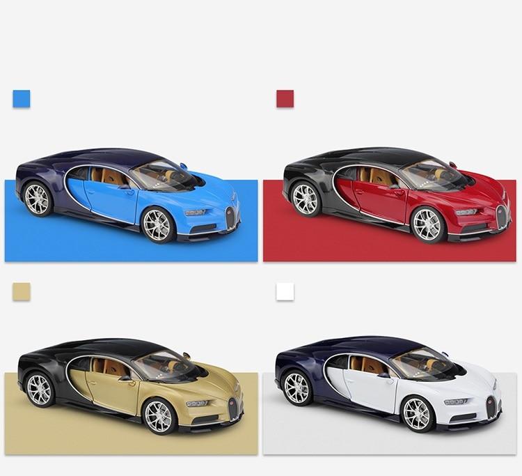 Welly 1:24 Bugatti Chiron Super Sport Car Diecast Alloy Model Car Toy Car