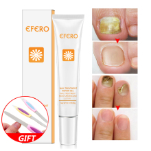 EFERO Remedy For Nail Fungus Fungal Treatment Cream Cuticle Remover Oil Whitening Foot Manicure Tool
