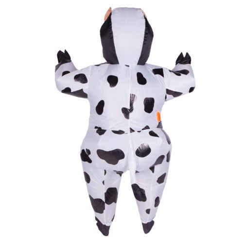 Adulto divertido Animal inflable vaca vestido de disfraces traje de Mascota de vaca disfraz de Halloween Purim Stag 150 cm-200 cm