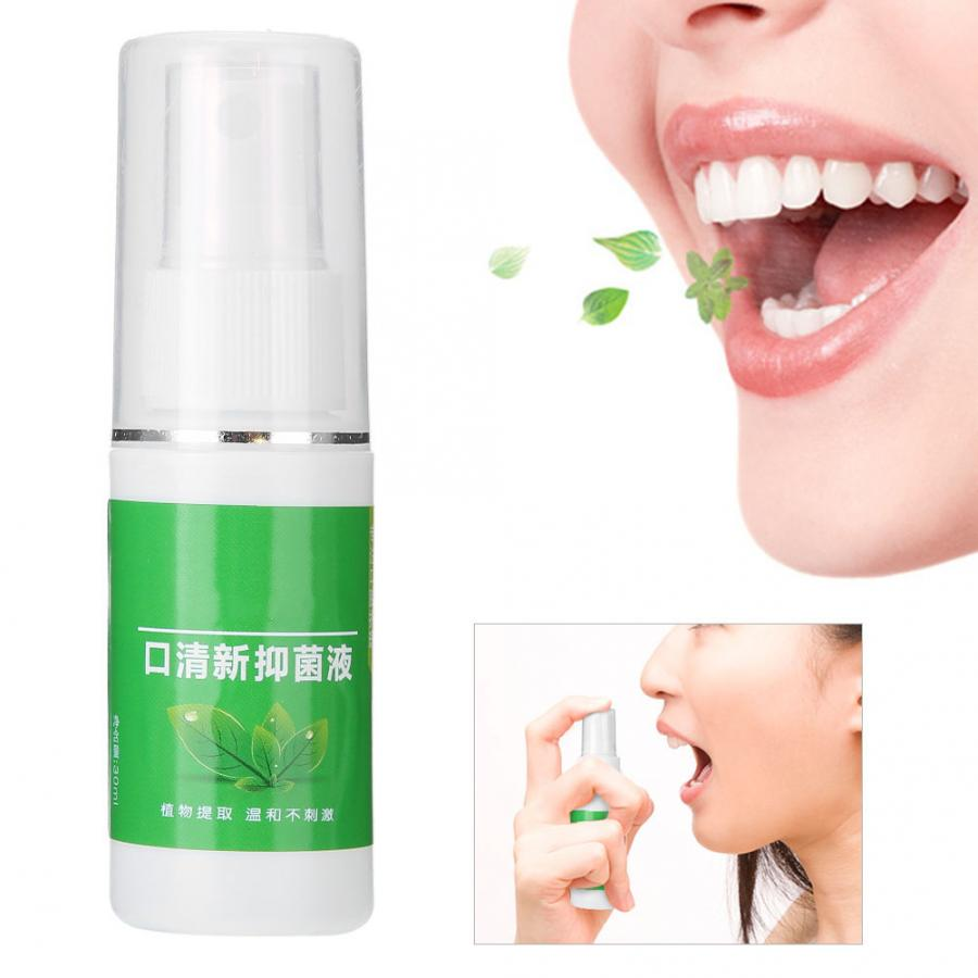 Breath Freshener Spray Mouth-Treatment Halitosis Oral-Odor Bad 30g