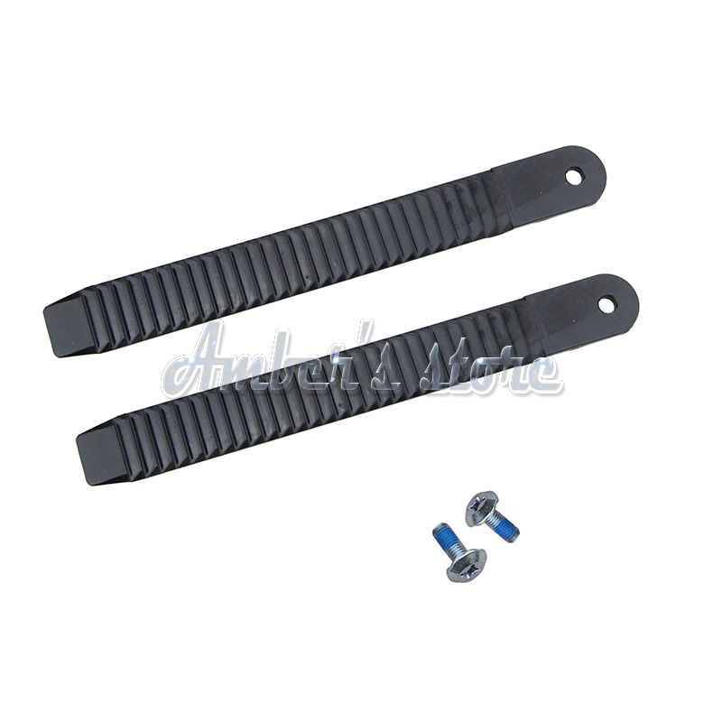 1 Pair (2pieces )Snowboard Ankle Ladder Strap Binding
