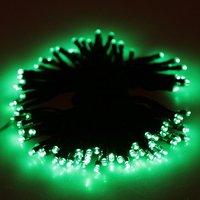 JFBL 20.5 metre 200 LED solar lamba ışık dize ışık için animasyonlu su geçirmez İç dış taraflar için ideal (Yeşil)