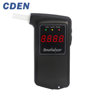Breathalyzer Alcohol Tester Professional Police Digital Breath Quick Response Breathalyzer LCD For The Drunk Drivers By