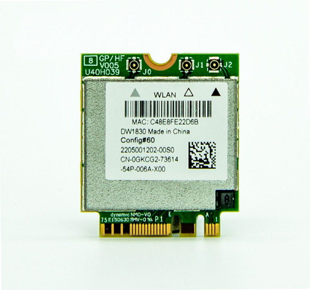 BCM943602BAED 802.11AC Dual Band 1300 Mb Cartão DW1830 BT4.1 NGFF M.2 Wi-fi Sem Fio