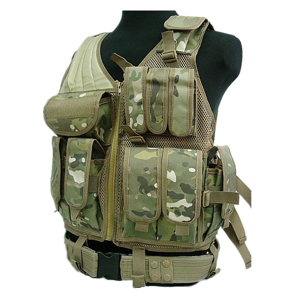 military tactical vest molle USMC Hunting Combat Vest (Multicam SAND)[VT-05] ботинки usmc американской морской пехоты