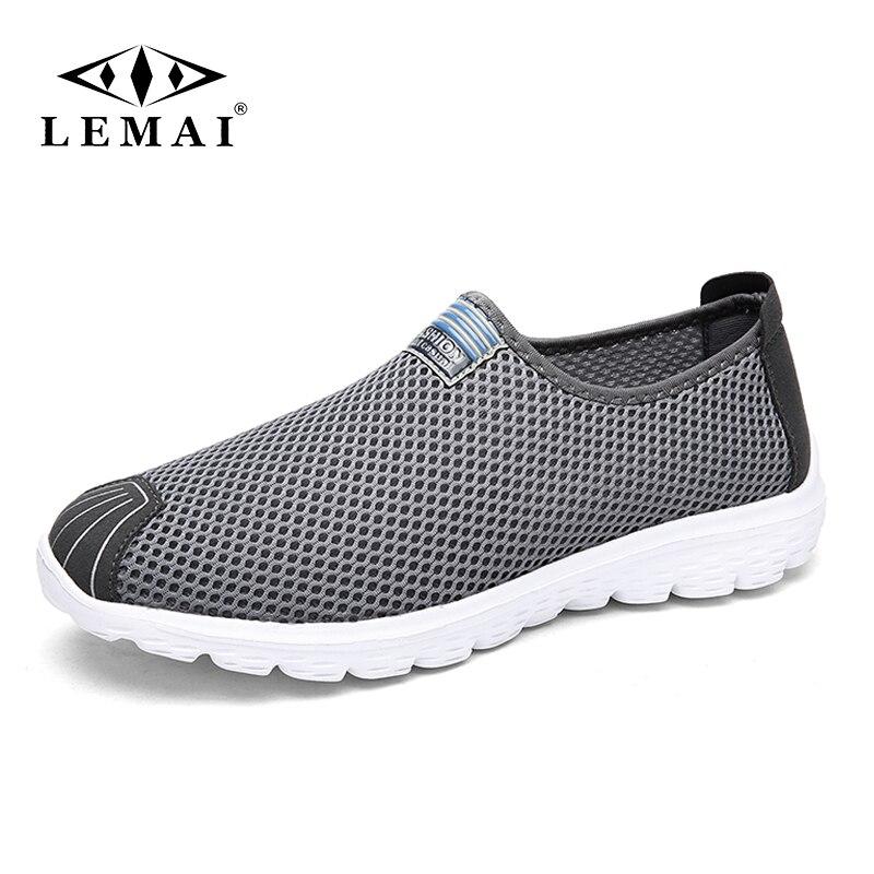 Unisexe été respirant maille hommes chaussures léger chaussures plates pour homme décontracté mâle chaussures marque Designer hommes mocassins