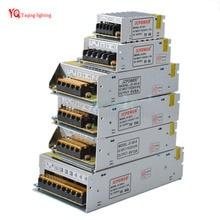 O 5V 2A/3A/4A/5A/8A/10A/12A/20A/30A/40A/60A SwitchLED Power Supply Transformers For WS2812B WS2801 APA102 8806 LED Strip