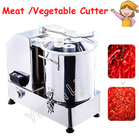 110V 220V Food Cutting Machine Multifunctional Electric Meat Vegetable Mixer Commercial Stuffing Mixer HR 6