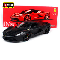 Bburago 1:18 488 GTB F40 250 FXXK California 458 Spide Sports Car Hardback Diecast Model Racing Car Toy New In Box Free Shipping