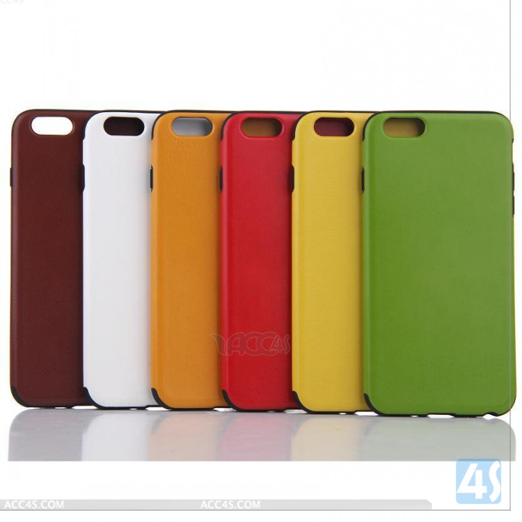 Colorcoral ligero slim fit shock resistencia suave cubierta trasera caso de  protección para Apple iPhone 6 Más 8ce5977a831
