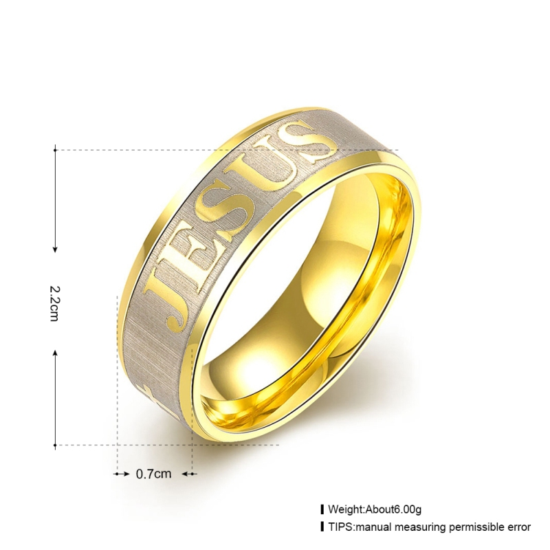 7mm Spinner Ring Men Gold Titanium Steel Rotate Rings For Women Jewelry Cheap Engagement Ring Anillos De Compromiso