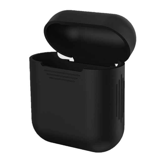100pcs DHL Shipping TPU Silicone Bluetooth Wireless Earphone Case For AirPods Protective Cover Charging Box Only