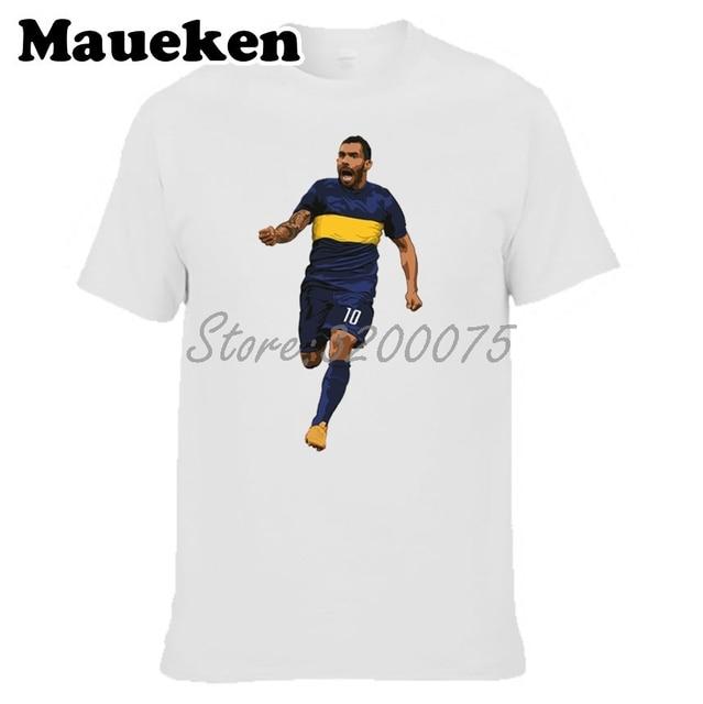 ea0d78fca01 Men Carlos Tevez 10 Legend T-shirt Clothes T Shirt Argentina Men s o-neck  tee W17080806
