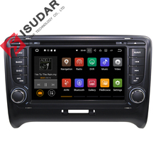 Android 7.1.1! Quad Core 7 Inch Car DVD Player Multimedia For Audi/TT 2006-2012 With Canbus Wifi GPS Navigation Radio Free Map