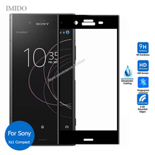 All Coverage For Sony Xperia XZ1 Compact Full Cover Tempered Glass Screen Protector 2.5D Safety Film On Xz 1 G8441 G 8441
