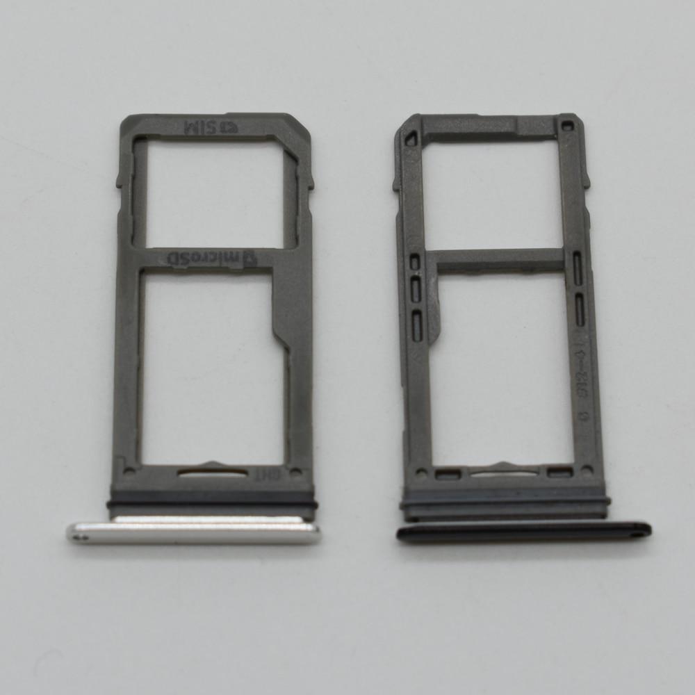 2pcs/lot Single Dual Sim SD card Holder For Samsung Galaxy Note 8 N950 N950F N950FD SIM Card Tray Holder