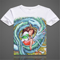 ew Printed Spirited Away T Shirts MenTops For Short Sleeve Miyazaki Hayao t-shirt Japan Cartoon Shirt tees