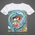 ew Printed Spirited Away T Shirts MenTops For Short Sleeve Miyazaki Hayao t-shirt Japan Cartoon Shirt tees