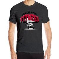Coaches Ryan Strength Cotton Print O-Neck Men Camisetas Mujer Die Dye Comfortable Short Sleeves Tshirt