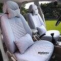 Universal tampas de assento do carro para Suzuki Jimny Grand Vitara Swift Alto SX4 Kizashi Wagon R Paleta Stingray acessórios do carro