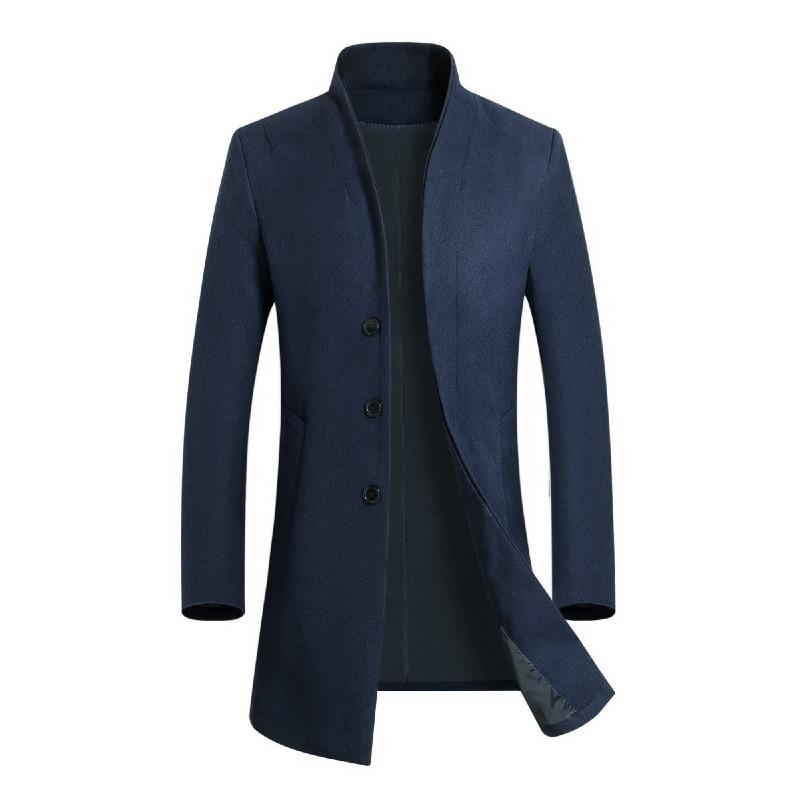 2018 модная мужская обувь куртка с длинным рукавом старший Повседневное Бизнес Для мужчин свободные куртка LXJ29
