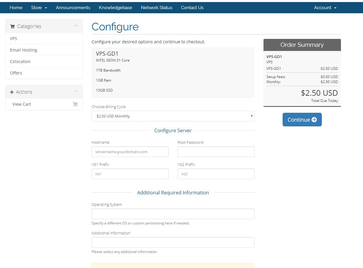 羊毛党之家 XEN容易超售-GeorgeDatacenter:$2.5/月/1GB内存/15GB SSD硬盘/1TB流量/XEN/达拉斯