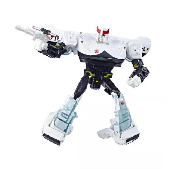 Siege War para Cybertron Delux clase Prowl coche Robot juguetes clásicos para niños colección figura de acción