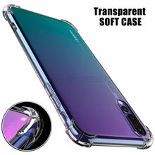 Transparent Soft Shockproof Case For Huawei Y5 Y6 Y7 Y9 prime 2019 2018 nova 5 5i 4 4e 3 3i 3e P30 pro P20 Lite Clear Protective(China)