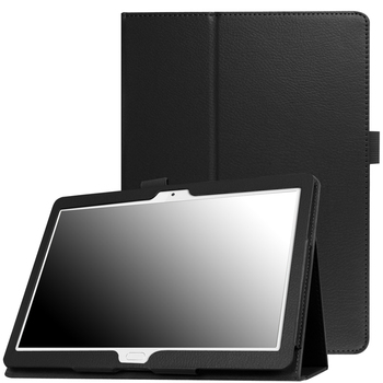 Case for Huawei MediaPad M3 Lite 10 BAH-W09 BAH-AL00 Slim Folding Stand Cover for Huawei M3 Lite 10.1 inch Tablet Funda+Film+Pen tempered glass for huawei mediapad m3 lite 10 bah w09 bah al00 10 1 inch 9h ultra thin tablet protective toughened glass film