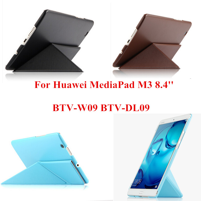 SD PU Leather Slim Flip Protective Skin Case With PC Back Stand Cover For Huawei MediaPad M3 8.4 inch BTV-W09 BTV-DL09 tablet PC luxury flip stand case for samsung galaxy tab 3 10 1 p5200 p5210 p5220 tablet 10 1 inch pu leather protective cover for tab3