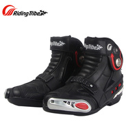 Pro biker professional motorcycle boots men racing motorbike boots botas motorcycles moto riding shoes A0009