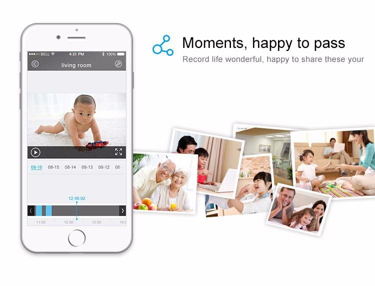 monitorowania Babykam do bezprzewodowy 13