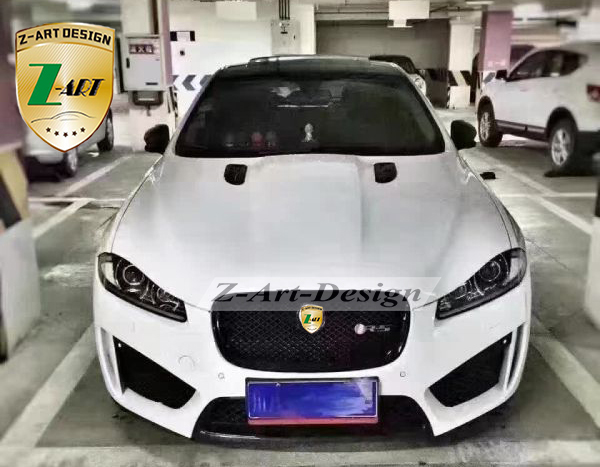 Plastic kit for Jaguar XF Hot selling tuning kits to XF RS ...