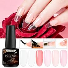 цена на RBAN NAIL Poly Extension Gel Polish Quick UV Builder Nails Gel Extender Acrylic Gels Polish Nails Kit Extension Nail Art