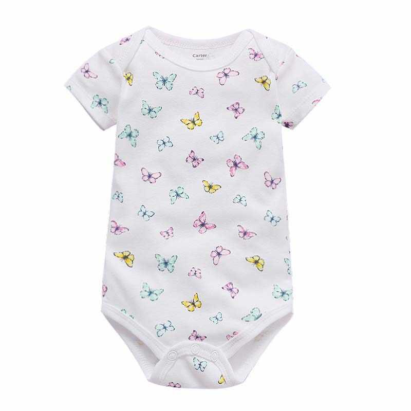 Traje de bebé para verano Body Suits Boy Girl ropa de manga corta conjunto de ropa de recién nacido moda unisex traje de recién nacido 2019 algodón