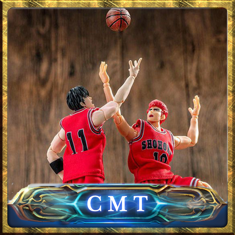 CMT Instock Dasin Model DM Slam Dunk Rukawa Shohoku Basketball S.H.Figuarts SHF PVC Action Figure Anime Toys Figure anime slam dunk akagi takenori action figure pvc classic collection toy model garage kit doll
