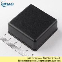 Маленькая пластиковая электрическая коробка diy чехол для инструментов abs Пластиковая распределительная коробка IP54 пластиковая коробка для электронного проекта 51*51*20 мм