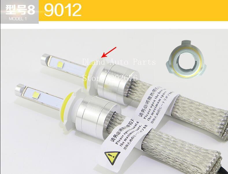 Бесплатная доставка, дешевый Cha N9 высокой мощности авто светодиодные лампы, XHP50 чип 4800LM, IP68 H1 H3 <font><b>H4</b></font> H7 9006 9005 H8 H10 H11 H13