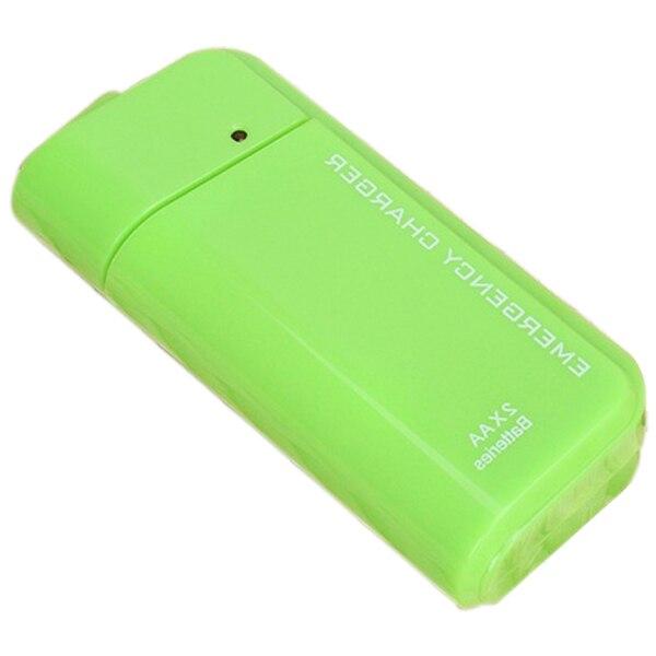 Оптовая 8X AA Батарей Аварийного Зарядное Устройство USB Сотовый Телефон Power Bank Дело