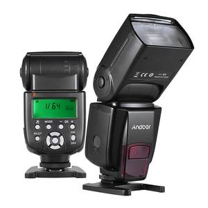 Image 2 - Andoer AD560 IV Đèn Flash Máy Ảnh 2.4G Không Dây Trên Camera Đèn Flash Speedlite Nhẹ GN50 Màn Hình Hiển Thị LCD Dành Cho Máy Ảnh Canon Nikon sony Máy Ảnh DSLR